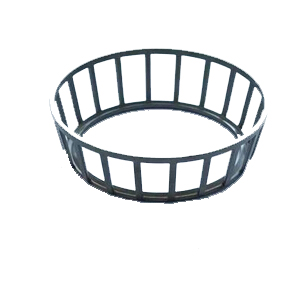 Factory direct reliable custom plastic ball cage bearing retainer