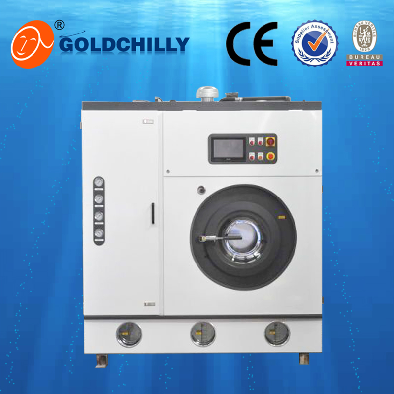 Laundry janitorial services fully auto industrial dry cleaning machines