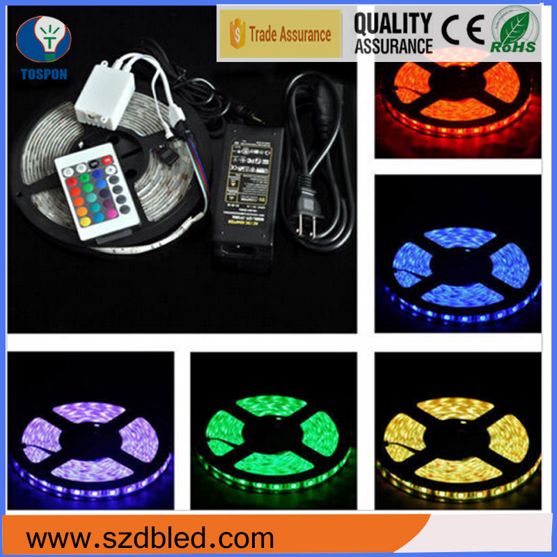 12v Epistar chip 6-7lm/led high density halloween decoration smd3528 led strip light bulb time line