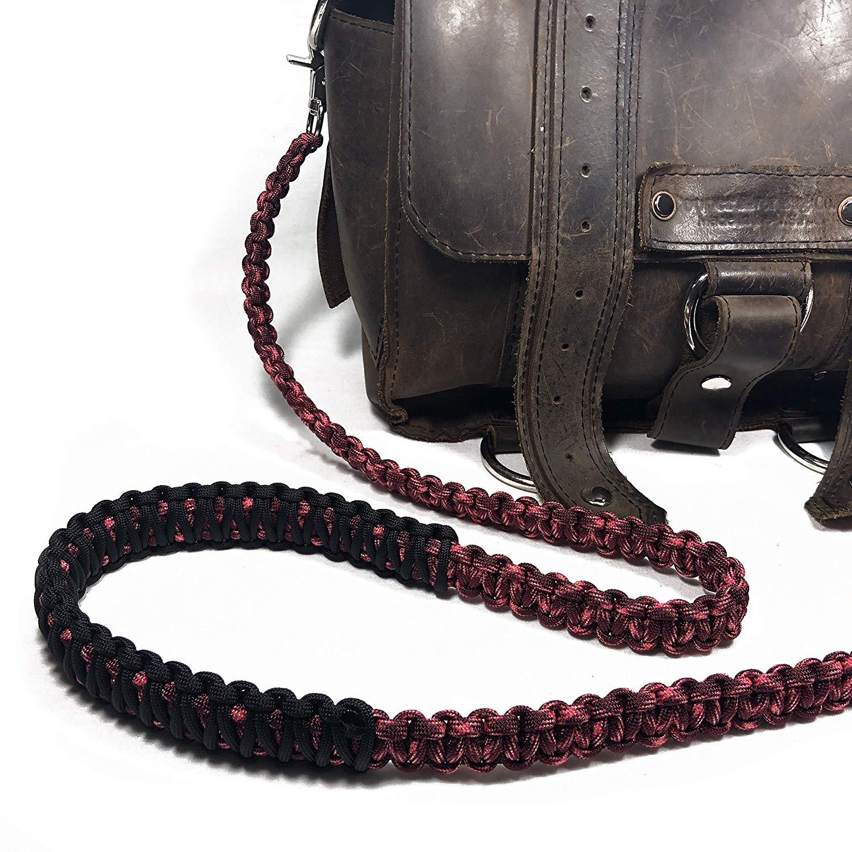 Handbag Burgundiva Paracord 44 inch Cross Body Shoulder Strap Lunch Bag Duffel Bag Satchel Strap