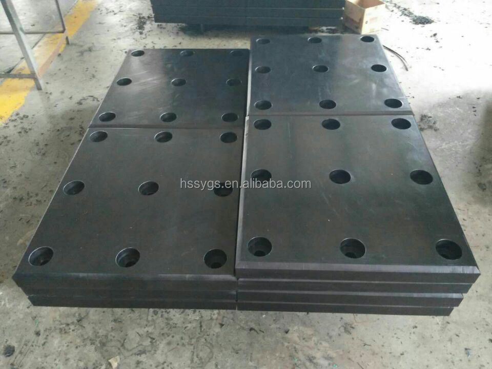 Low temperature resistant HDPE fender board/ self lubricating polyethylene plastic board