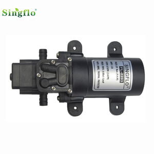Singflo 12v 2.6L/min 70 psi agriculture water motor used for agriculture irrigation