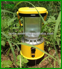High Performance Competitive Solar Camping Lantern with 3 indicator Light and USB Socket