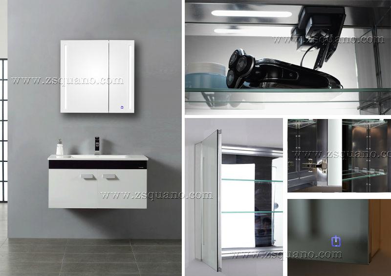 Medicijnkastje Met Spiegel : Bluetooth badkamer medicijnkastje met spiegel deuren buy kast