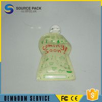 Large supply factory directly selling spout pouch for orange juice