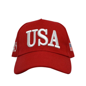 Trump Hat Usa Logo Custom Hats And Caps Embroidery Baseball Cap 323bf2d9ac9