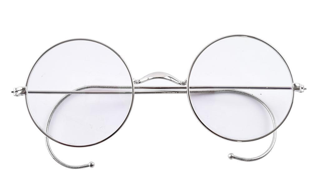Agstum 49 мм круглая оптическая редкая оправа для очков в стиле рецепта без носоупоров античные очки Rx(Китай)