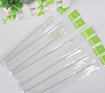 2019 Popular stainless steel cleaning brushes for the pipes/ Drinking Pipe Straw Brushes / Brush Cleaner