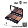 3 Color Eyebrow Powder Palette Cosmetic Makeup