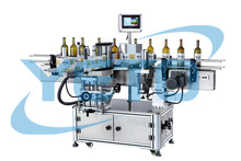Automatic Round Glass Bottle Labeling Applicator Machine With Circle Roller