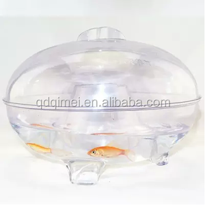 Fly Trap Catcher Plastic Container Box fishbowl globe jar