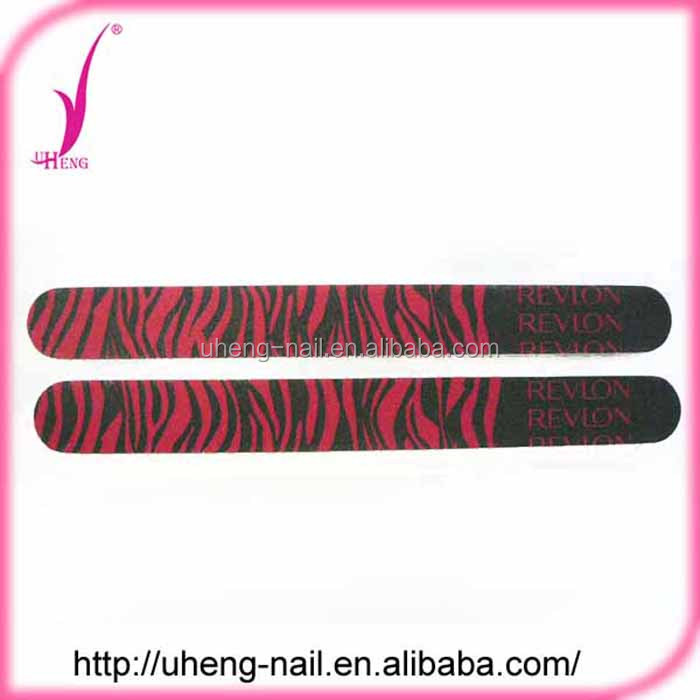 Novelties Wholesale China Curve Nail File and Color Nail File