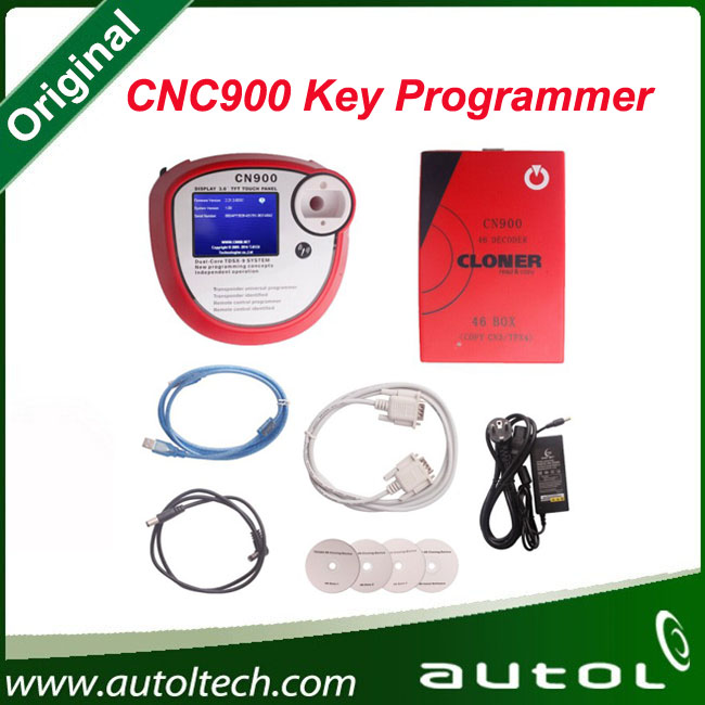 PC version auto transponder key programmer CN900 transponder key programming tool support to copy EH2 and TPX2