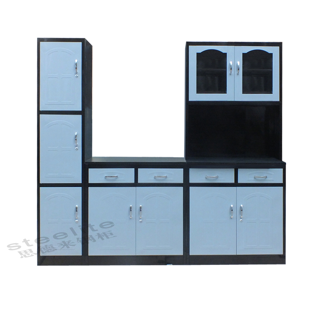 High Gloss Factory Price 3 Door Kitchen Cabinet Buy 3 Door Kitchen Cabinet