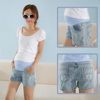 7fec010c5b369 Korean Style Woman Fashion Cotton Jeans Shorts,Maternity Jeans - Buy ...