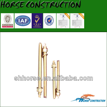 Horse concrete embeds / anchor bolts / Anchor rods