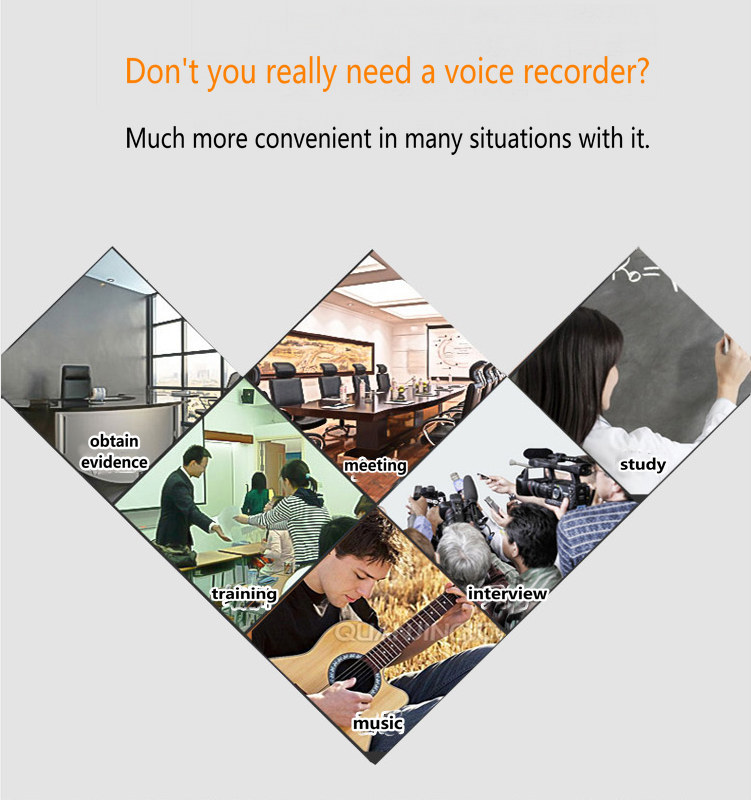V25 New Professional Long Distance Noise Reduction Recording Pen USB 2.0 Sound Spy Audio Recorder WAV Format Microphone Recorder