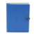 High Quality A5 Fancy Blue Metal Plate Paper Notebook With Branded Logo