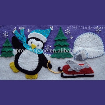 2018 new fashion hot sale china crafts cheap wholesale eco animated penguin ornaments outdoor christmas decorative