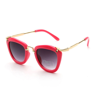 f2fb22766bf 2018 New Candy Cute Boys Girls Kids Sunglasses Vintage Sun Glasses Children  Cat Eye Sunglass 6