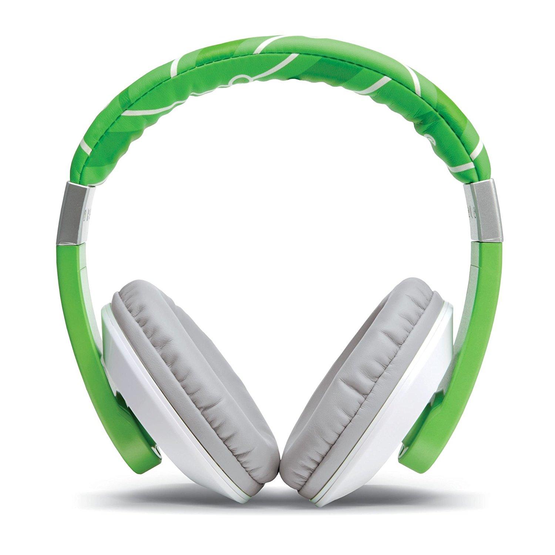 LeapFrog Headphones, Green (for LeapFrog Epic, LeapPad Platinum, LeapPad Ultra, LeapStart Preschool & Pre-Kindergarten, LeapStart Kindergarten & 1st Grade, LeapPad2, LeapPad3, LeapReader, LeapsterGS Explorer)
