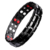 4 Energy Stones Germanium Magnetic Energy Stainless Steel Bracelet Bio Health