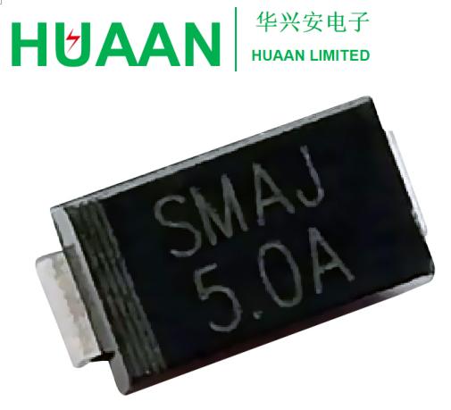 5 pieces Transient Voltage Suppressors 600W 45V 5/% Uni TVS Diodes