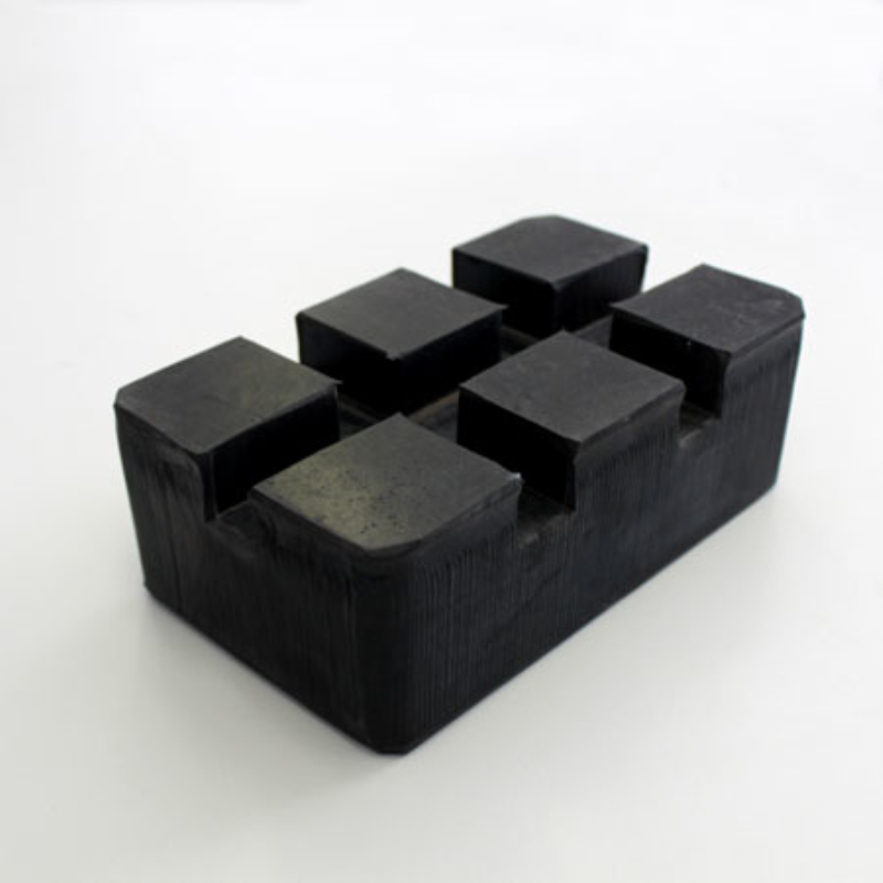 Custom made food grade silicone hard rubber block