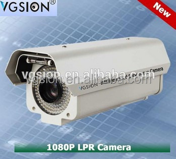 Infrared Technology and CCD Sensor Long Range 55 meters ANPR LPR ALPR