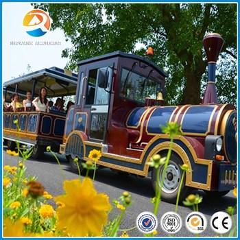 Elegant [Showann]New Backyard Amusement Rides Diesel Train