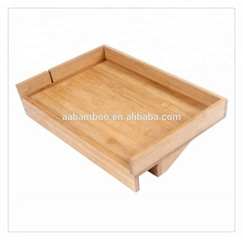 Natural Bamboo Wooden Bedside Shelf For Bunk Bed Bedside Shelf