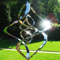 home garden decor powered kinetic sculptures by vincentaa