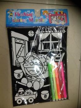 Velvet Coloring Poster Jauhi Dadah For Kids - Buy Velvet Coloring ...