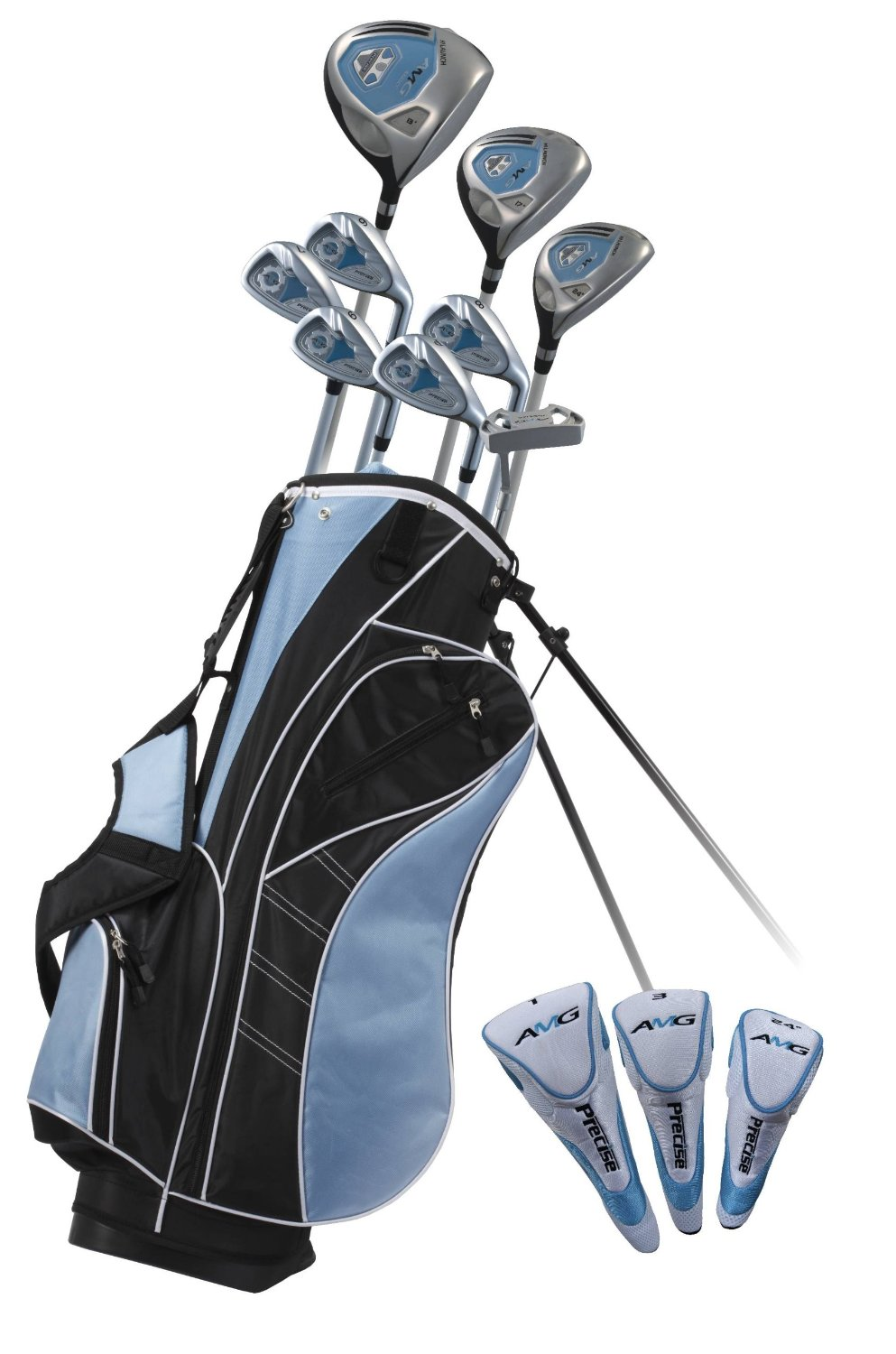 Precise AMG Women's Petite Complete Set (Right Hand, Blue,-1-inch)