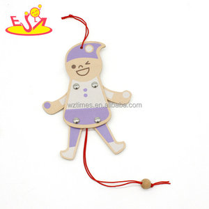 New hottest play string wooden marionette puppet for baby W01A309