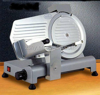 Semi-automatic Frozen Meat Slicer Machine