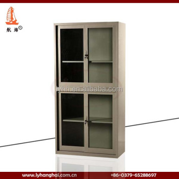 custom lockable 4 door metal office furniture locker design sliding 4 door metal filing cabinet