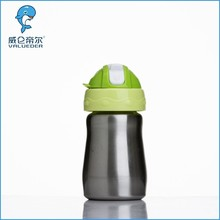 2015 New Design wholesale BPA Free stainless steel baby feeding bottle