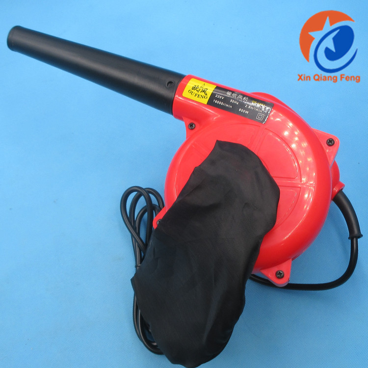 Portable red 800W/600W 220V small electric computer dust cleaning air blower price for Home & Office Cleaning work