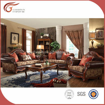 Alibaba Germany Living Room Sofa Leather Furniture Sofa Set A90