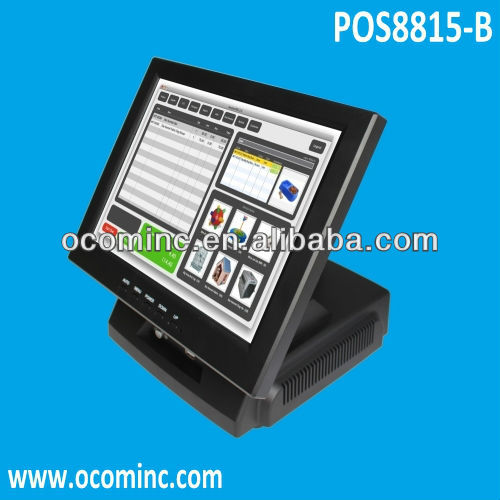 POS8815-B --- 15 Inch Popular Model Touch POS Hardware For Convenience Store