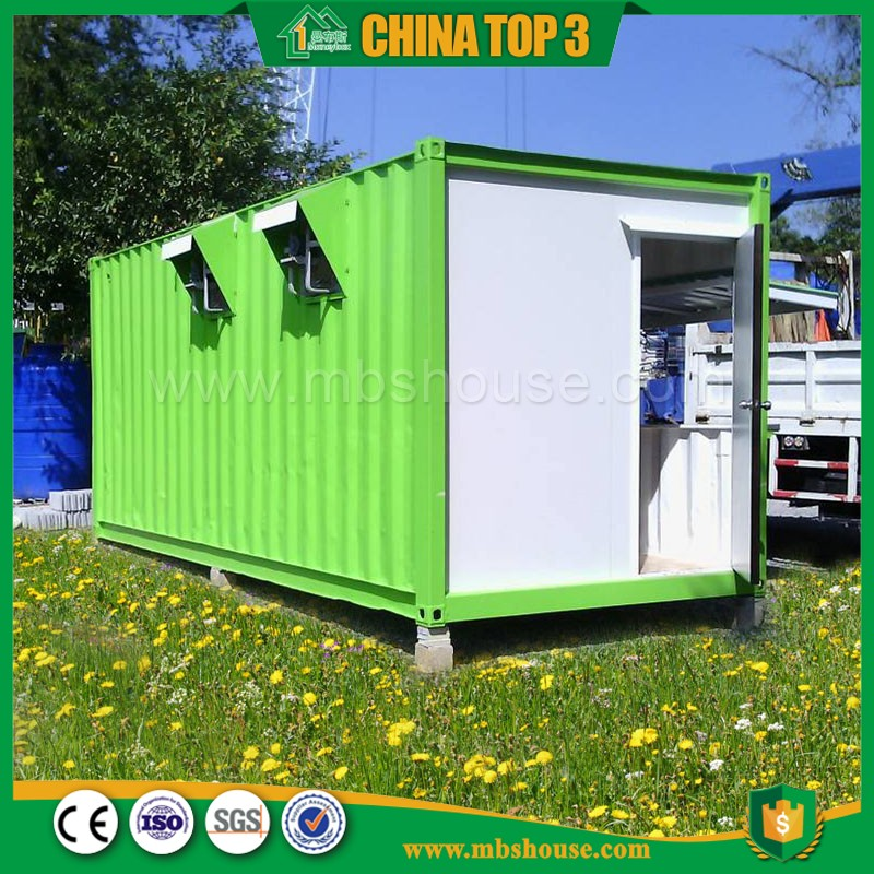 Moneybox 40ft Shipping Container Modified Prefabricated Snacks Retail Stores
