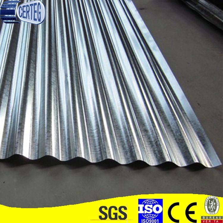 18 Gauge Galvanized Steel Roof Corrugated Metal Roofing
