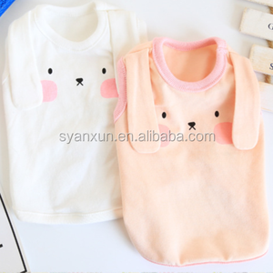 Anxiu popular manufacture pet clothes for rabbits in pink color