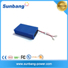 Custom rechargeable emergency lipo 12v 12ah battery pack