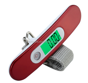 LED Digital 50Kg/10g Fish Hook Hanging Electronic Weighting Luggage Scale