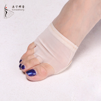 Toe Protector Wholesale Belly/Ballet Dance Elastic Wear Resistant Toe Pad Dance Foot Protector heel protector for dance shoes