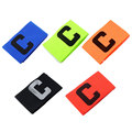 Football Soccer Basketball Flexible Sports Adjustable Bands Fluorescent Captain Armband
