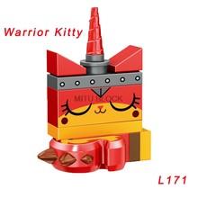Фильм 2 фигурки Эммет шаркира лорд бизнес Ллойд плохой полицейский Бэтмен Wyldstyle Unikitty строительные подарочные игрушечные блоки(Китай)