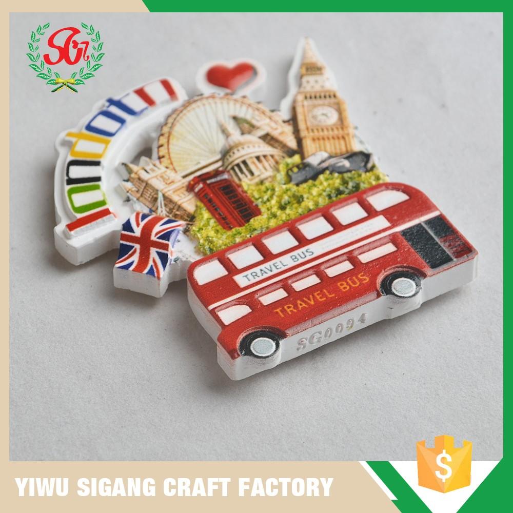 Custom Colorful Uk World City Fridge MagnetsCar Shape Fridge - Custom car magnets uk